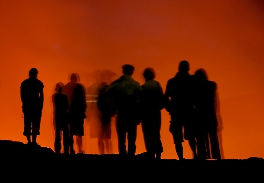 Yasur Volcano by Tom Genek