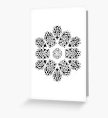 Entangled Vines- Mandala Greeting Card