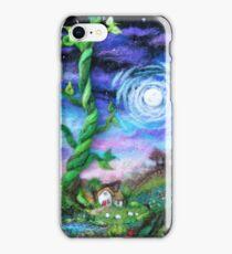 Beanstalk Cottage - Fairy tale Magic Felt Picture iPhone Case/Skin