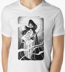 Night of the scream queen Men's V-Neck T-Shirt