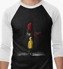 IT - Movie Poster 2017 Men's Baseball ¾ T-Shirt