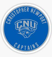 Christopher Newport University - Captains Sticker