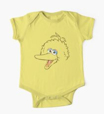 Big Bird Face One Piece - Short Sleeve