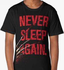 Freddy Krueger - Never Sleep Again Long T-Shirt