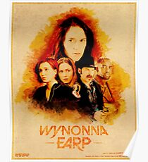 Wynonna Earp Western Style Cast Poster #2 Poster
