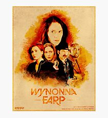 Wynonna Earp Western Style Cast Poster #2 Photographic Print