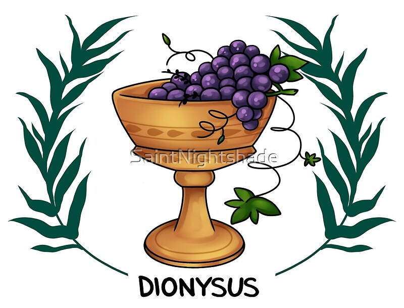 Quot Dionysus Inspired Cabin Symbol Quot By Saintnightshade