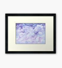 Romantic Sky and Clouds Framed Print