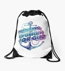 Ingenting er umulig for Gud Drawstring Bag