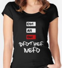 CTRL ALT DEL Women's Fitted Scoop T-Shirt