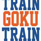 Train Goku Train - Dragon Ball Z style WWE mashup. by majinstevieart