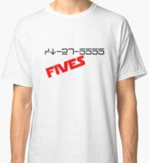 CT-27-5555 FIVES  Classic T-Shirt