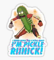 im pickle rick Sticker