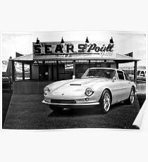 1965 Apollo 3500 GT III BW Poster