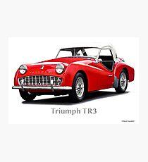 1958 Triumph TR3 Roadster Photographic Print