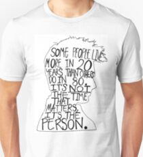 David Tennant Silhouette Doctor Who Quote T-Shirt