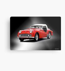 1958 Triumph TR3 Roadster II Metal Print