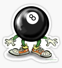 Eightball  Sticker