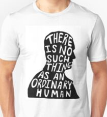 Christopher Eccleston Silhouette Doctor Who Quote T-Shirt