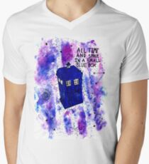 Galaxy T.A.R.D.I.S Doctor Who Quote T-Shirt