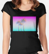 California Luuuv Women's Fitted Scoop T-Shirt
