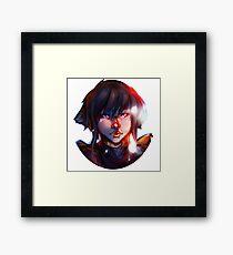 Lego Ninjago Nya Portrait  Framed Print