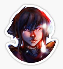 Lego Ninjago Nya Portrait  Sticker