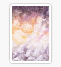 Watercolor Dramatic Sky Sticker