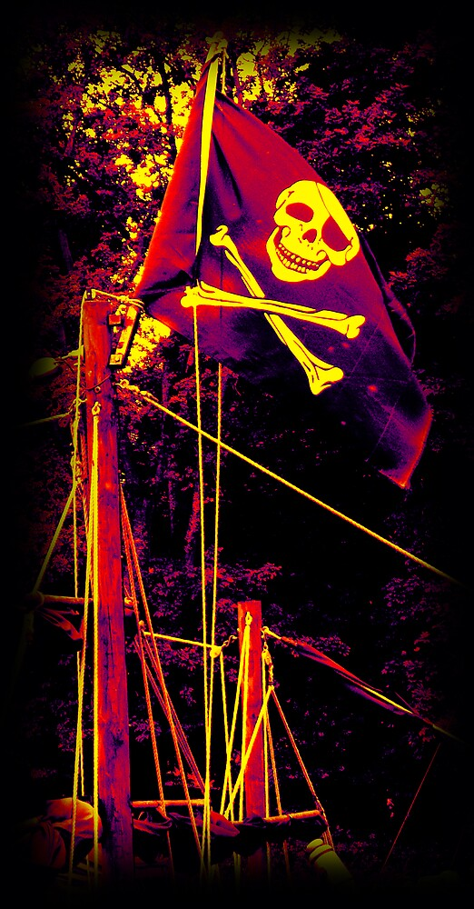The Jolly Roger ... by SNAPPYDAVE