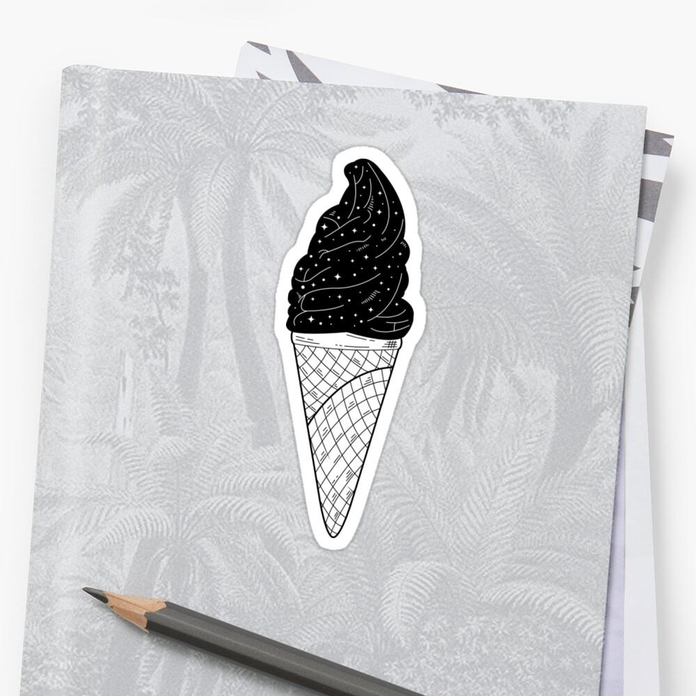 Galaxy Ice cream  by Blvckstar