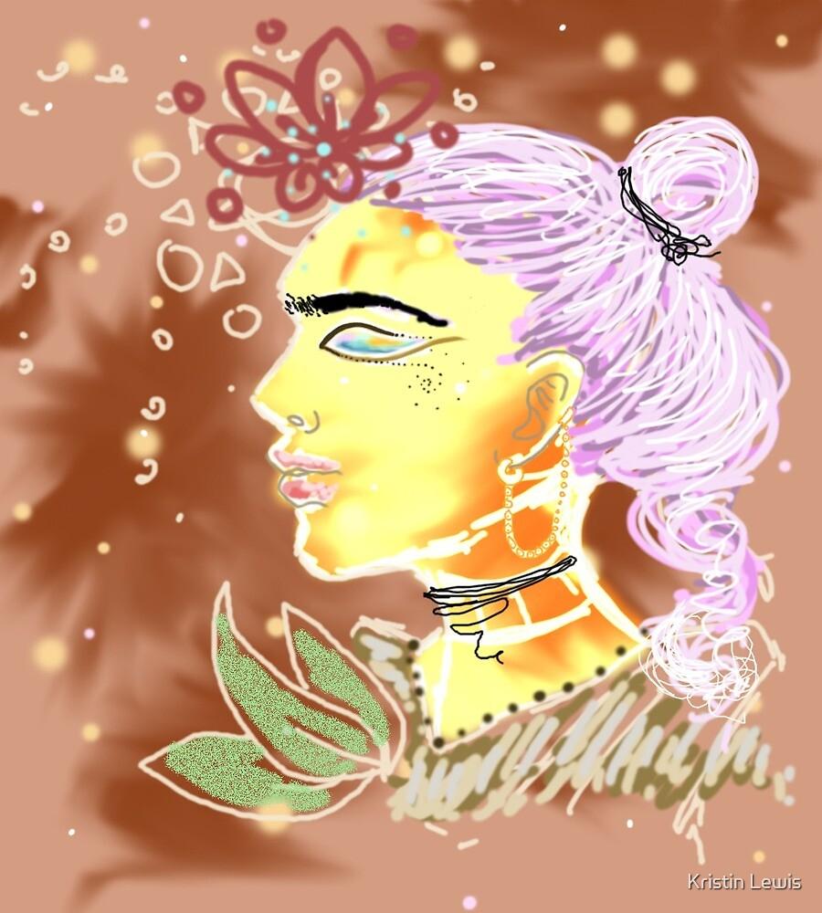 Impressionistic Frida by Kristin Lewis