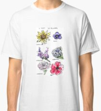 A Study in Flowers Classic T-Shirt