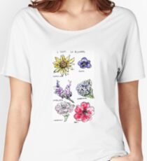 A Study in Flowers Women's Relaxed Fit T-Shirt
