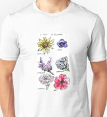 A Study in Flowers T-Shirt