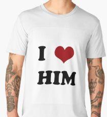 I love him Men's Premium T-Shirt