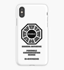 Dharma portable communication device - LOST iPhone Case