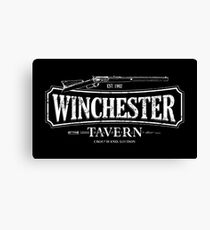 Shaun Of The Dead - Winchester Tavern HD Variant Canvas Print