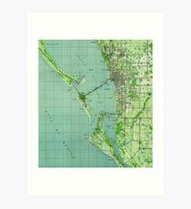 Map Sarasota Florida.Sarasota Fl Wall Art Redbubble