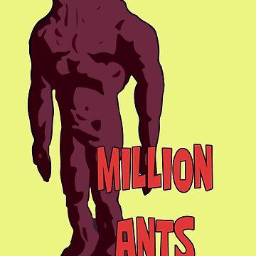 Million Ants - Rick & Morty by adventuretimes
