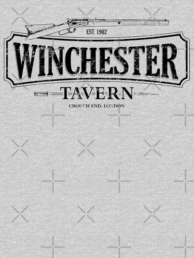Shaun Of The Dead - Winchester Tavern HD White by Purakushi