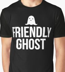 Friendly Ghost - Halloween  Graphic T-Shirt
