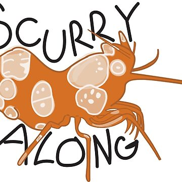 Scurry along by katzesart