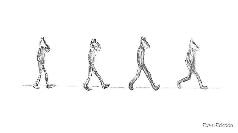 Beginning Of The Walk by Evan Ericson
