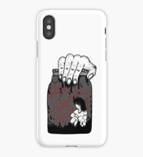 Emotionless (Red Sun Rising inspired) iPhone Case
