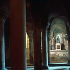 Crypt of La Trinite, L'Abbaye aux Dames, Caen 19840819 0068 by Fred Mitchell