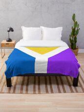 Y Flag Throw Blanket