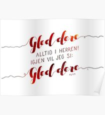 Gled dere alltid i Herren Poster