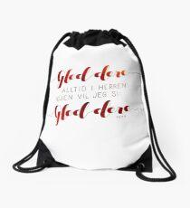 Gled dere alltid i Herren Drawstring Bag