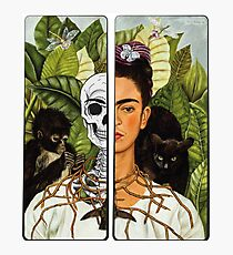 Frida Kahlo - Self Portrait (1940) Skeleton Version Photographic Print
