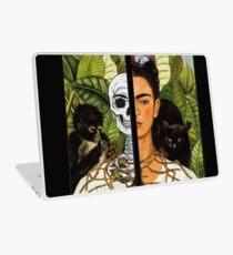 Frida Kahlo - Self Portrait (1940) Skeleton Version Laptop Skin